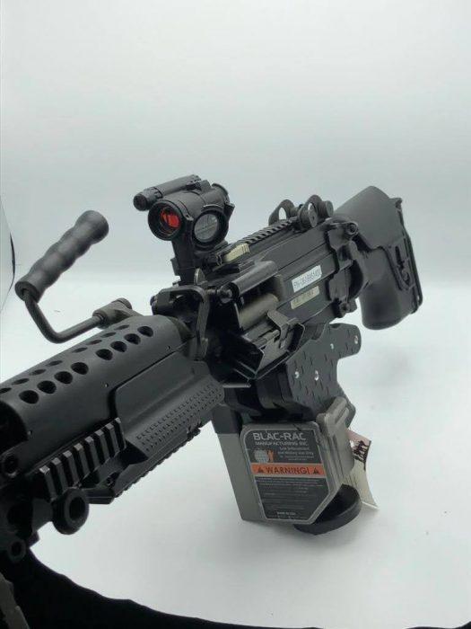 m249 saw in 1088 launcher gun rack photo op